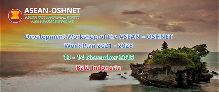 Development Workshop of the ASEAN-OSHNET Work Plan 2021-2025